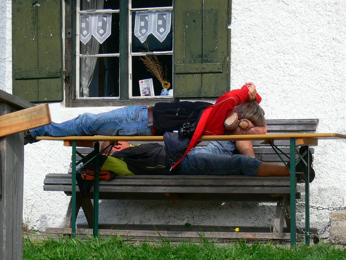 Am Ende waren alle Müde... :-)